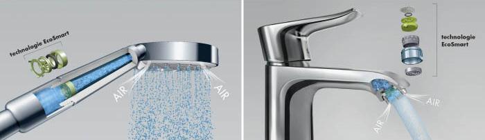 Díky přisávání vzduchu máte pocit velkého množství vody. Opak je ale pravdou.