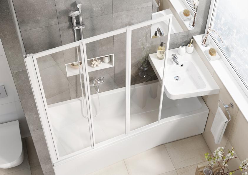 Ravak přišel s konceptem koupelnového zařízení, kterému stačí pouhé dva metry čtvereční.