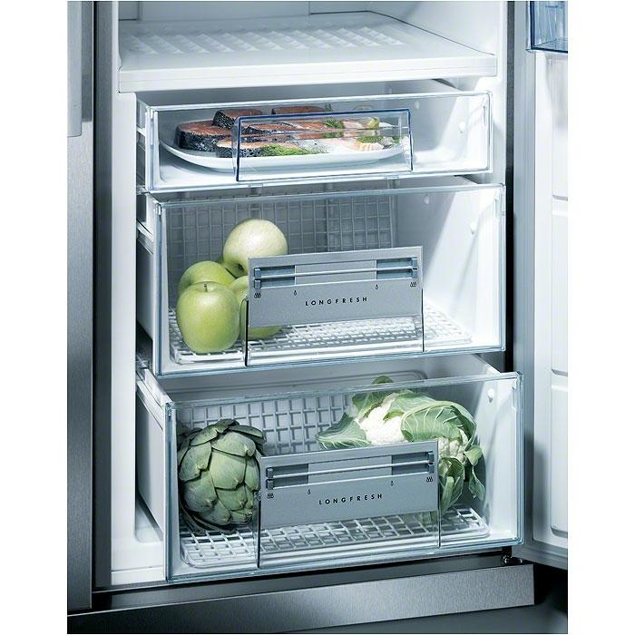Chladničky Electrolux mají zásuvky prodlužující čerstvost potravin