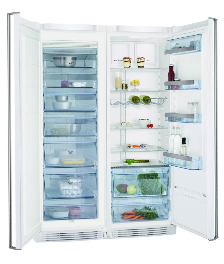 Potraviny by měly být v chladničce rozloženy rovnoměrně