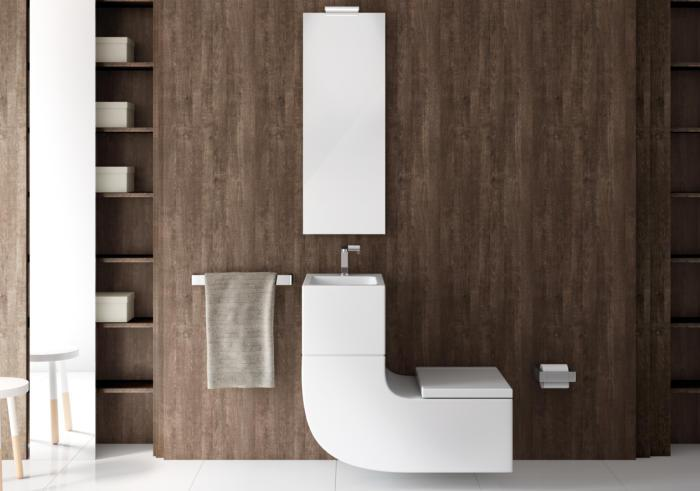 Toaleta W +W firmy Roca