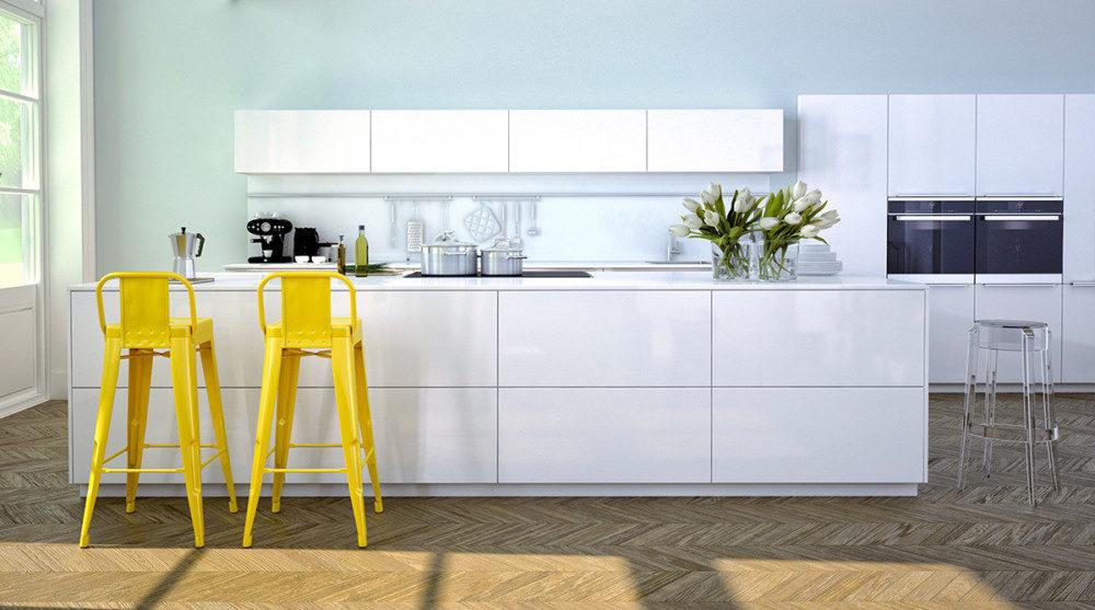 Jaké Barvy Zvolit Do Kuchyně Orientované Na Sever Homeincube
